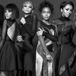 Photo by Bradford Rogne for Kode Magazine 2016 Featuring Serayah McNeill, Kiersey Clemons, Zendaya, Yara Shahidi, Kat Graham, Aja Naomi King, #GenerationNoir , #KodeMag , #BradfordRogne , Post-Production by Menezes Digitial