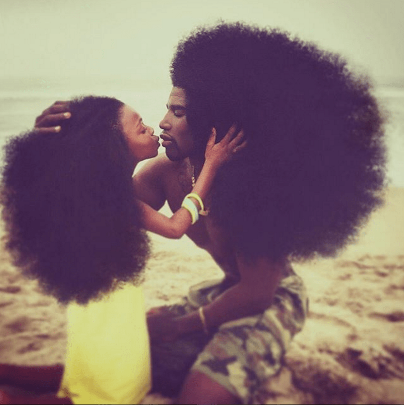 [Pics] This Father-Daughter Duo is Breaking the Internet With Their Incredible Natural Hair