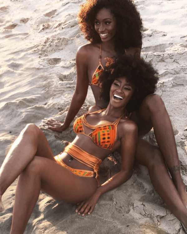 Pics The Kentekini And Dashikini Are Bikinis Made