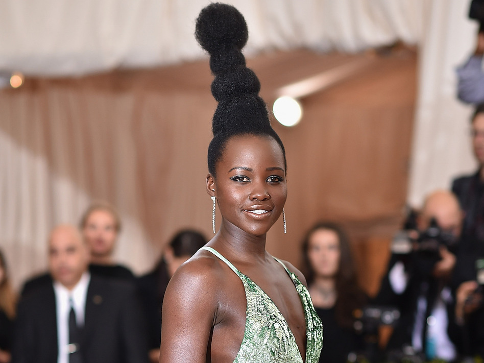 Lupita Nyong'o Claps Back on Instagram After Vogue Credits Audrey Hepburn as Her Met Gala Hair Inspiration