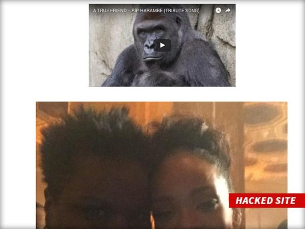 Leslie's hacked website Source
