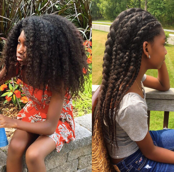 Black Mother Creates Instagram Account Dedicated to Her Daughters' Incredible Natural Hair Journeys