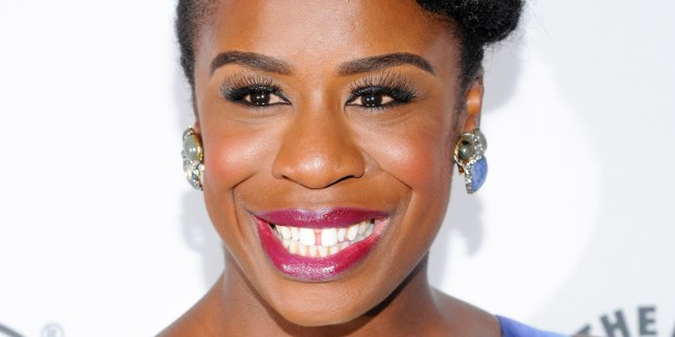 """Actress Uzo Aduba attends PaleyFest: Made In NY - """"Orange Is The New Black"""" panel discussion at The Paley Center for Media on Wednesday, Oct. 2, 2013 in New York. (Photo by Evan Agostini/Invision/AP)"""