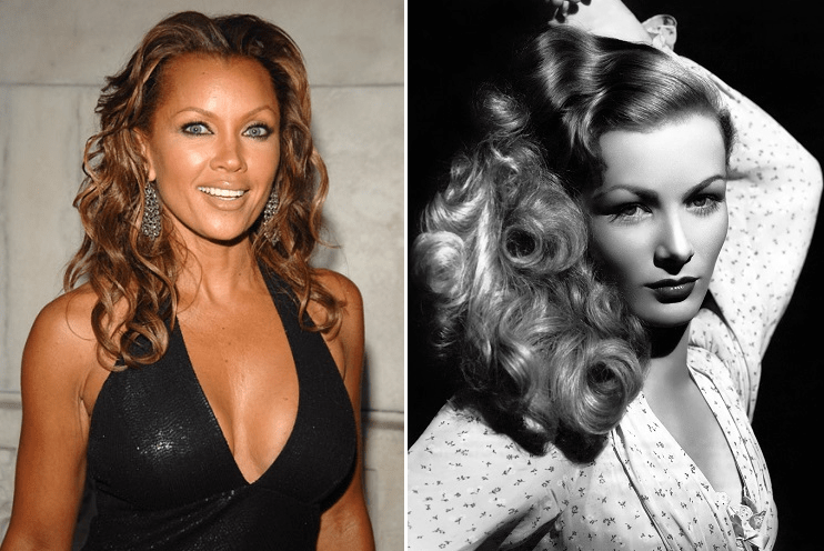 [Pic] Fans Lash Out After Vanessa Williams Impeccably Channels White Actress Veronica Lake