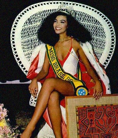 1986 Miss Brazil Deise Nunes