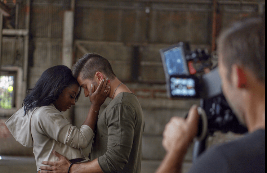 Simone Biles is an Adorable Love Interest in Jake Miller's Video 'Overnight'