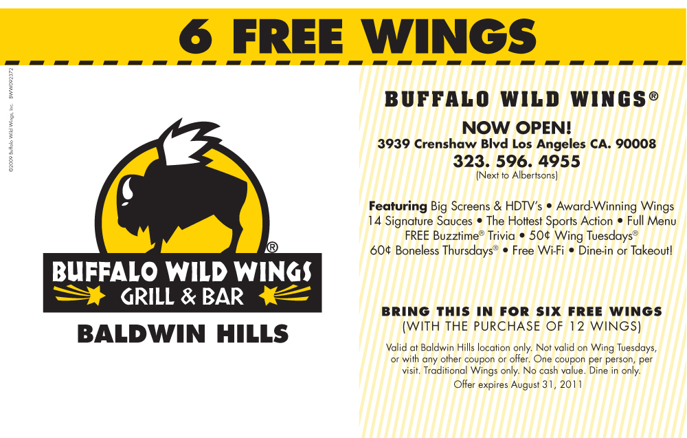Everyone knows that watching sports is exponentially better when wings and beer are involved, and Buffalo Wild Wings is the place where the trifecta of fun comes together.