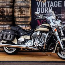 #001 LIMITED EDITION JACK DANIEL'S INDIAN CHIEF VINTAGE MOTORCYCLE AUCTIONED FOR $150,000 AT BARRETT-JACKSON LAS VEGAS