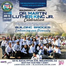 Inglewood's 35th Annual MLK Day Parade Ride 2018