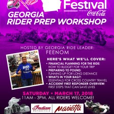 BGR to Essence Fest: Georgia Rider Prep Workshop – March 17, 2018