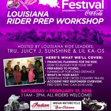 BGR to Essence Fest: Louisiana Rider Prep Workshop – Feb 17, 2018