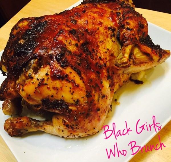 """My chicken made in the """"Black Girls Who Brunch"""" kitchen"""