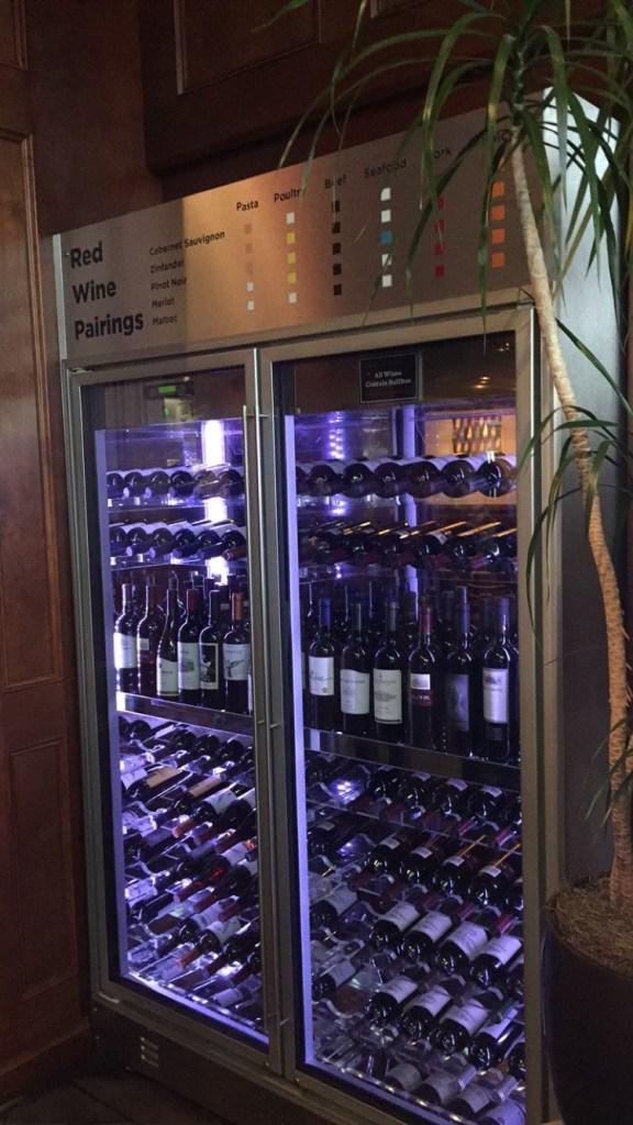 One of the wine fridges.
