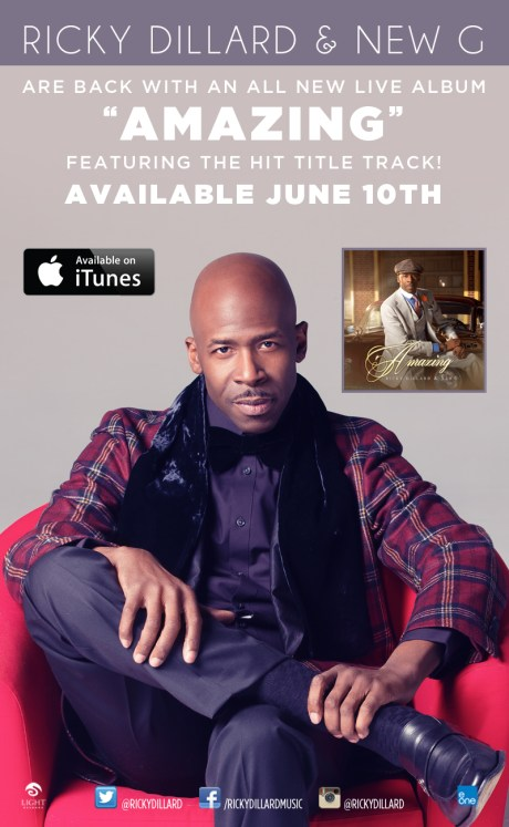 RICKY DILLARD & NEW G Are Back With AMAZING...Available June 10th
