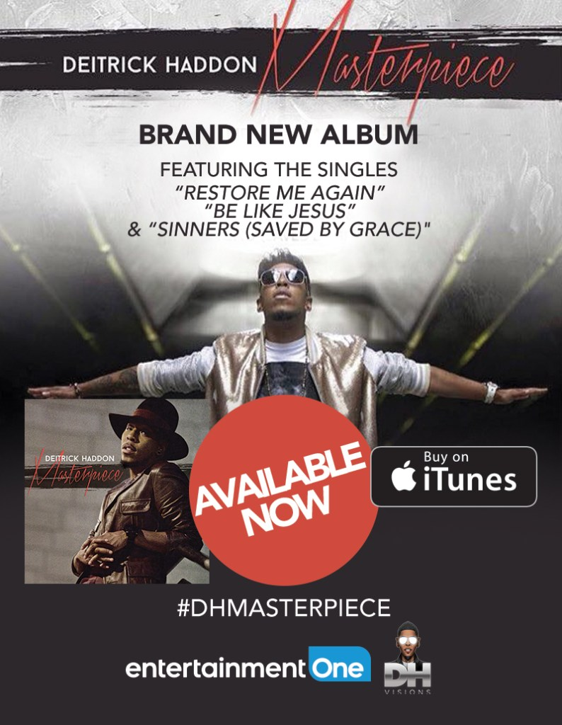 DEITRICK HADDON Returns With New Album MASTERPIECE