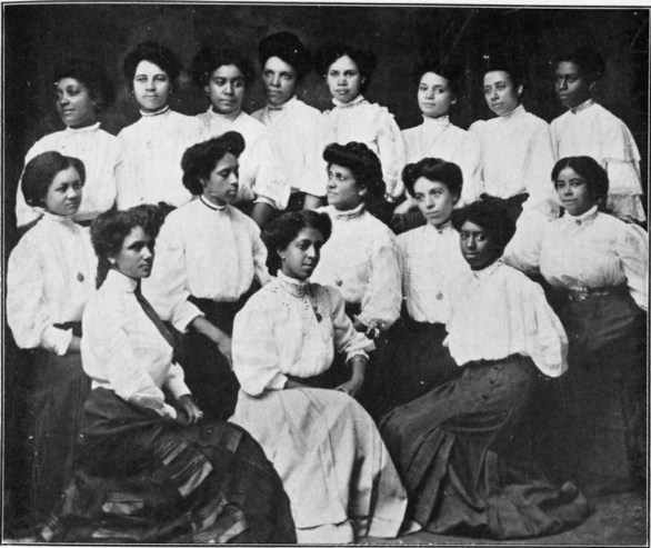 social club of 16 young women