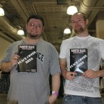 They were some of the early adopters of the book at this years NYC comic con.