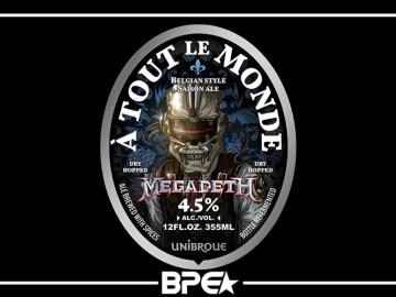 Megadeath Nova Cerveja