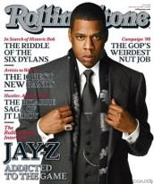 Jay-Z na capa da Rolling Stones
