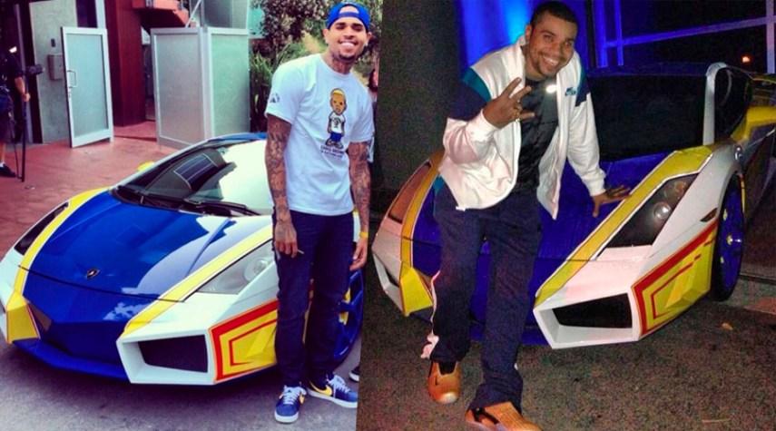 Naldo Lamborghini Chris Brown