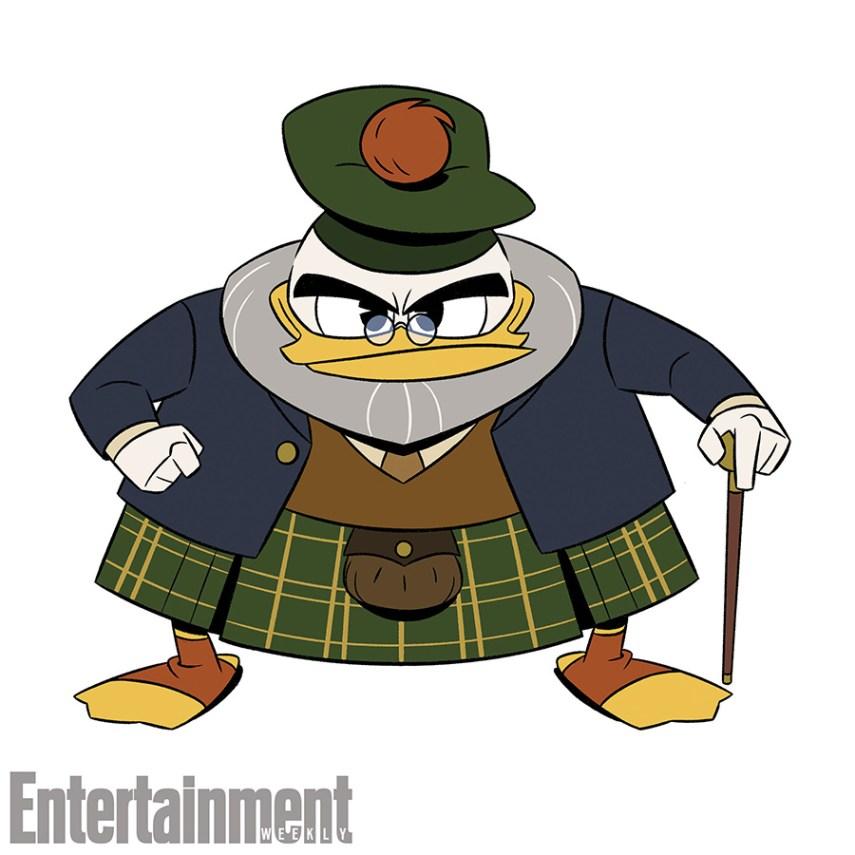 DUCKTALES - Character Art (Disney XD) FLINTHEART GLOMGOLD