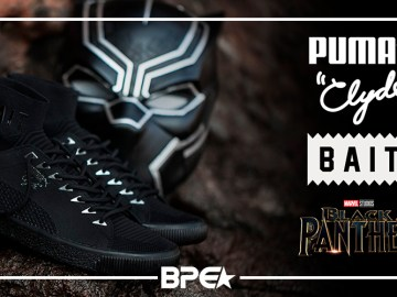 BAIT x Pantera Negra