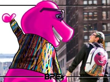 Barney x Sprayground
