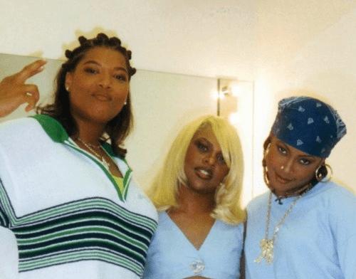 Queen Latifah, Lil Kim e Da Brat.