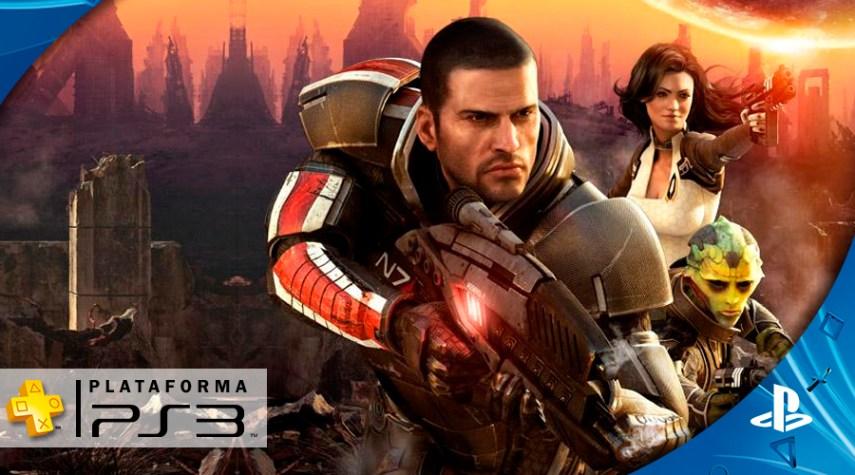 Mass Effect - Plus Novembro PS3