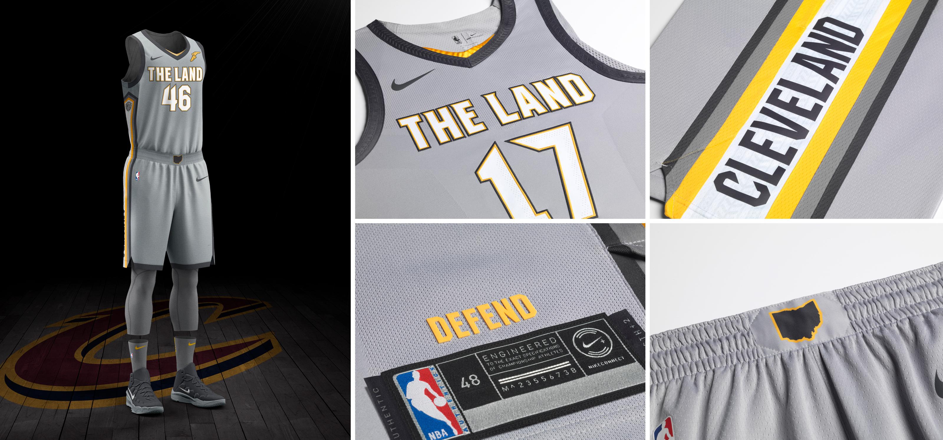 NBA e Nike - Cleveland Cavaliers