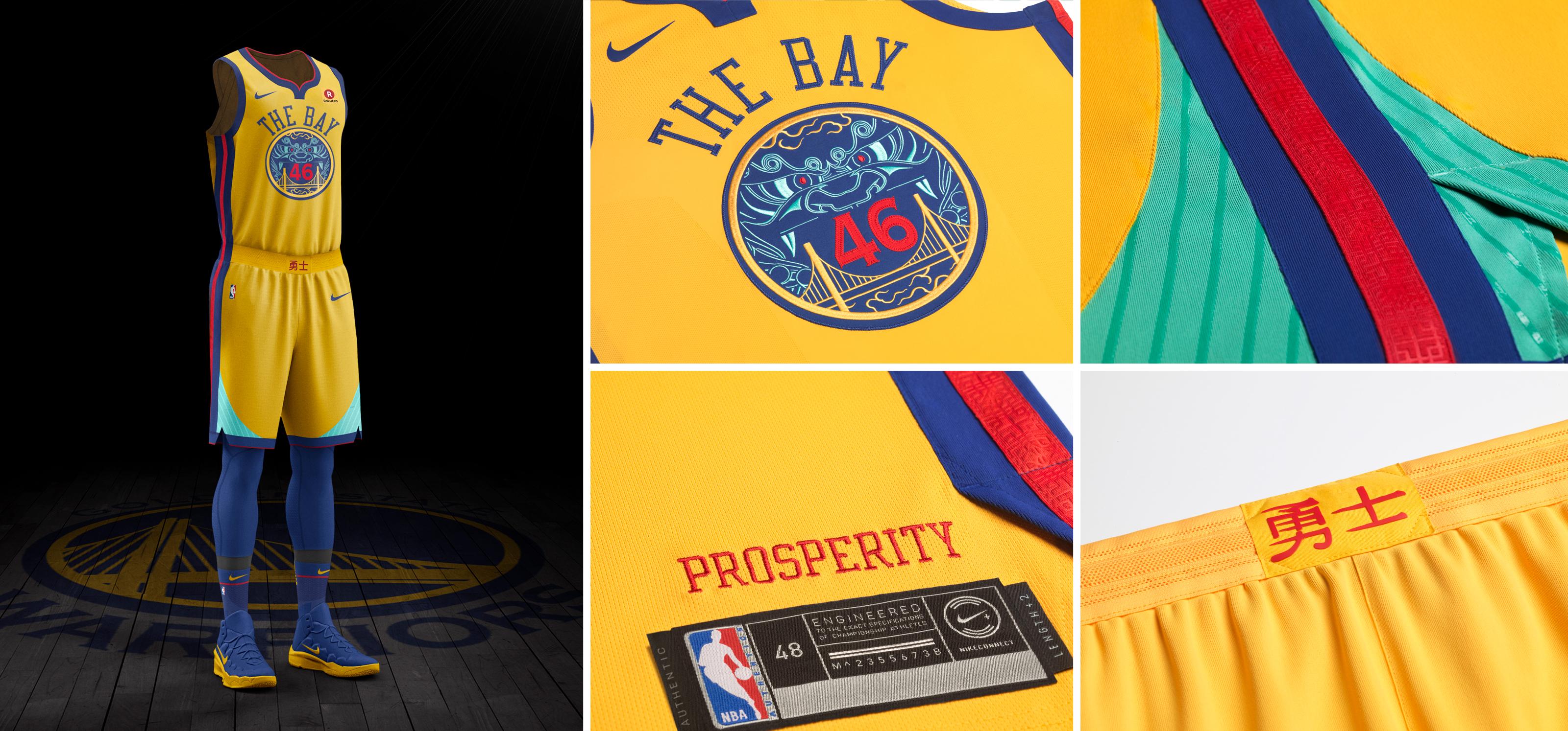 NBA e Nike - Golden State Warriors
