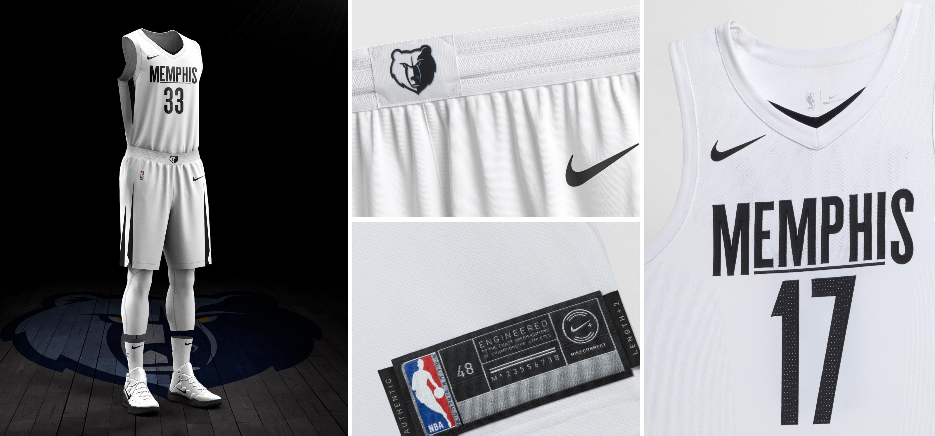 NBA e Nike - Memphis Grizzlies