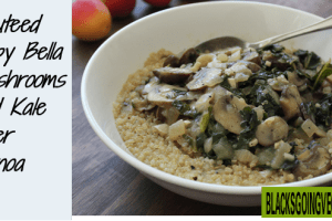 Test Kitchen – Cozy Millet Bowl With Mushroom Gravy and Kale
