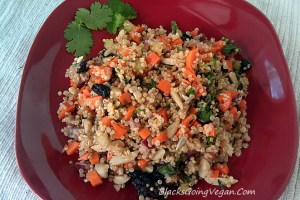 Vegan Power Quinoa Salad