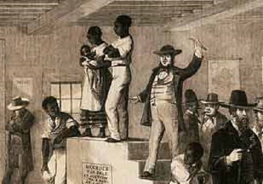 slave auction houses