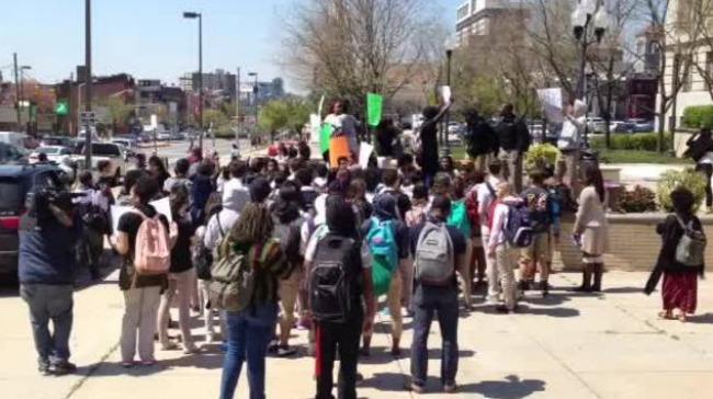 Baltimore School Walkout