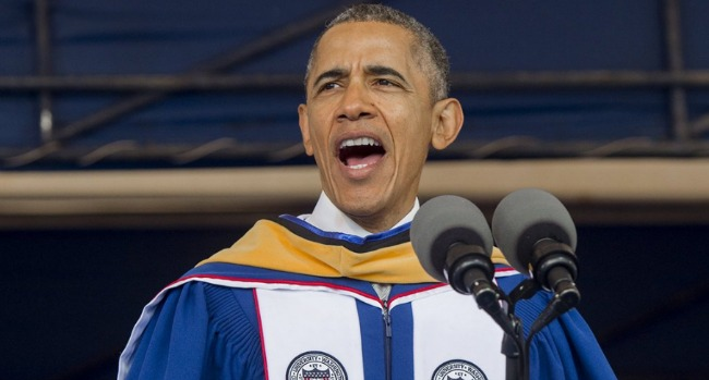 Obama Howard Commencement