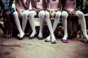 Photo of ballet dancers by  Sebastian Miranda