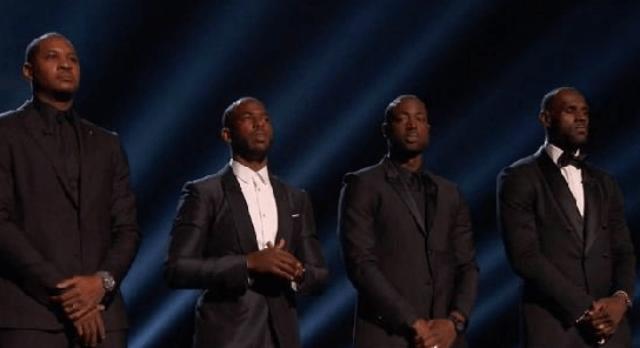 ESPY NBA players