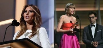 Taylor and Melania