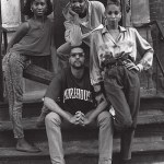 Members of The House of Saint Laurent (clockwise): Temperance, Terence, Octavia and Robbie, Harlem 1989.