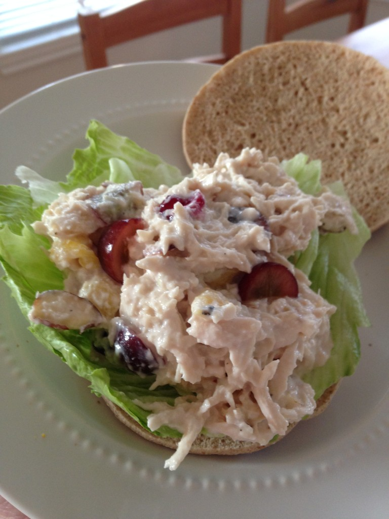 Fully Loaded Greek Yogurt Chicken Salad | Blair Blogs