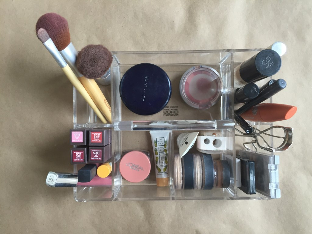 Organizing My Makeup (And Keeping It Off The Counter!)