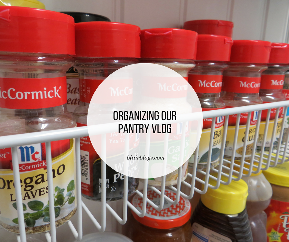 Organizing Our Pantry Vlog