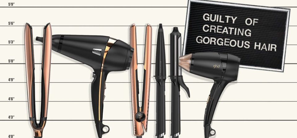 GHD Copper Luxe Collection.