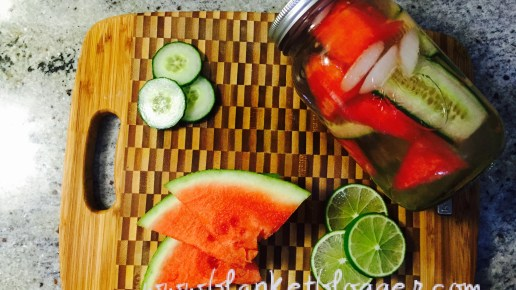 Watermelon Cucumber Detox Water