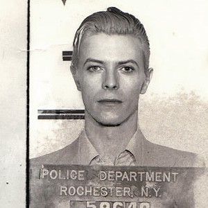 David Bowie Arrested Mugshot
