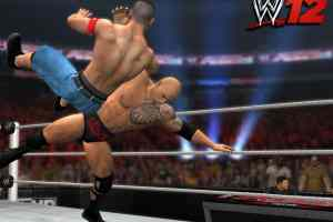 The Rock returns and delivers a Rock Bottom to Cena.