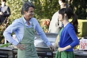 Class differences intimidate Jess as she dives into a romance with the wealthy Russell (Dermot Mulroney).
