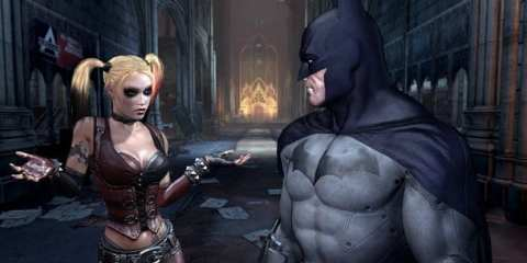 Batman Arkham City harley
